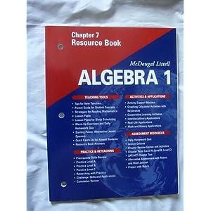 Algebra Book Answers Mcdougal Littell | Homeshealth.info