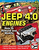 img - for Jeep 4.0 Engines: How to Rebuild and Modify (Sa Design) book / textbook / text book