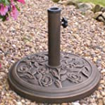 Cast Iron Effect Parasol Base