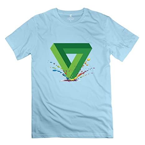 Penrose Triangle 3D T Shirts, in 9 Colors