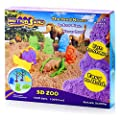 Motion Sand 3D Zoo Animal Playset