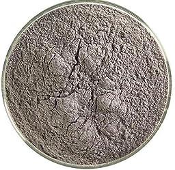 Stiff Black Opalescent Powder Frit - 4oz - 90COE - Made From Bullseye Glass