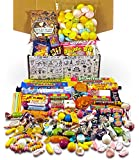 Retro Sweets Mega Gift Box: Jam Packed With Over 60 of the Best, Most Mouthwatering Retro Sweets. Perfect Inexpensive Birthday Gift, Get Well Soon, Congratulations, Romantic Valentines or Anniversary Present Ideas For Him and Her: Boys & Girls, Mums & Dads, Men & Women Of All Ages.