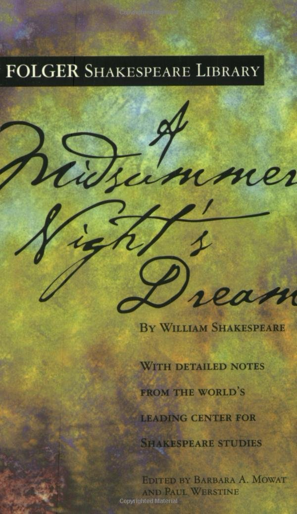 A Midsummer Nights Dream ISBN-13 9780743477543