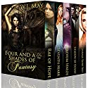 Four and a Half Shades of Fantasy: A Young Adult Anthology Audiobook by W.J. May Narrated by Andrea Emmes