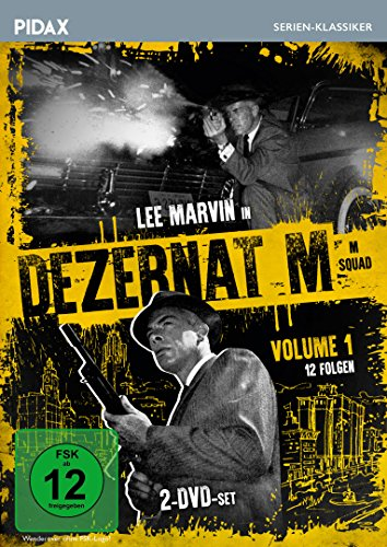 Dezernat M, Vol. 1 (M Squad) / 12 Folgen der legendären Kriminalserie mit Lee Marvin (Pidax Serien-Klassiker) [2 DVDs]