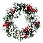 Koopower - Guirnalda navideña artific...