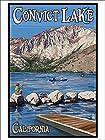 Convict Lake, California Scene (9x12 Art Print)