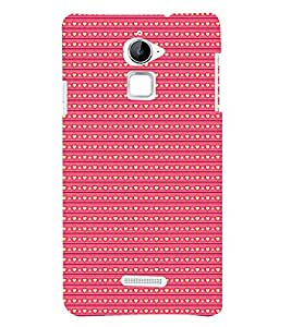 Love Symbols Pattern 3D Hard Polycarbonate Designer Back Case Cover for Coolpad Note 3 Lite