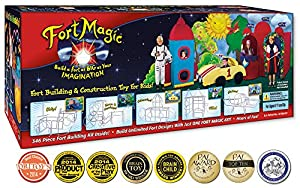 FORT MAGIC: FORT BUILDING & CONSTRUCTION TOY KIT FOR KIDS!