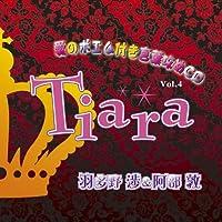 愛のポエム付き言葉攻めCD Tiara Vol.4 羽多野渉&阿部敦 花婿は嵐が丘の双子の王子出演声優情報