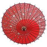 1stモール 【 おみやげに 】 和風 踊り傘 日傘 (赤) ST-ODORI-RD
