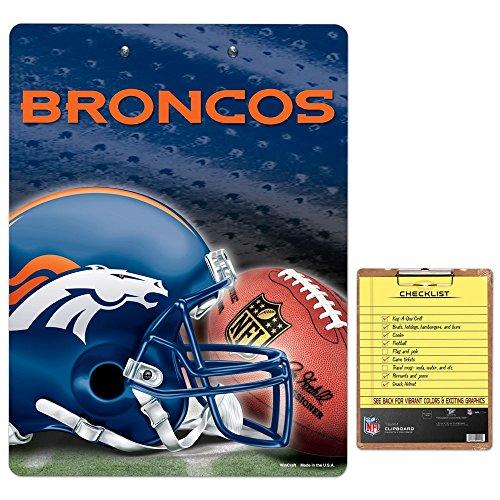 Denver Broncos Clipboard Broncos Clipboard Broncos