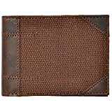 ROSTIG Men's Genuine Leather Wallet Brown