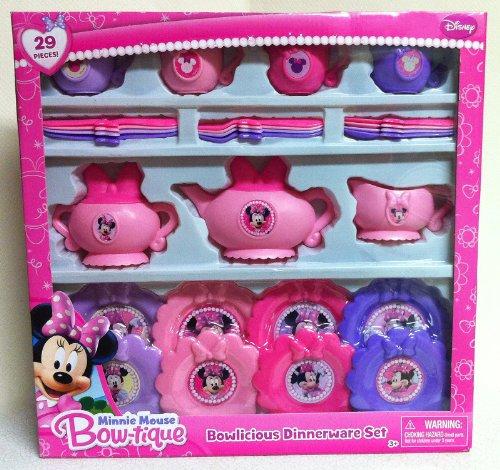 Disney Minnie Mouse Bow-Tique Bowlicious Dinnerware Set