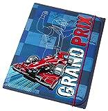 Schneiders Viena 49434-070 - Heft billetera Gran Prix, alrededor de 25 x 32,5 x 1,5 cm, azul
