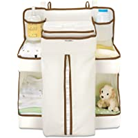 Munchkin Organiser Cot Crib Hanger Changing Bag Diaper Wipes Storage