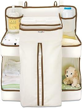 Munchkin Organiser Cot Crib Hanger Diaper Wipes Storage