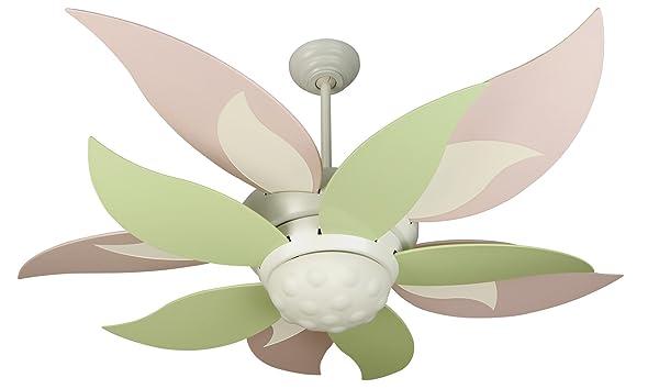 Craftmade BL52W-BBL52GRN 52-Inch Bloom Fan