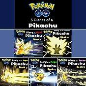 Pokemon Go: Diaries of a Pikachu First 5 in 1: Pokemon Go Series, Books1 - 5 | Tagashi Takashima