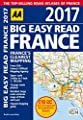 AA Big Easy Read France 2017 (AA Road Atlas) (Big Easy Read Guides)