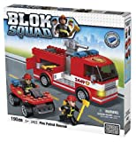 Mega Bloks Blok Squad Buildable Fire Patrol Rescue Playset