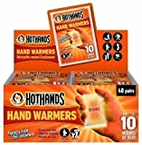 40 Pairs Hot Hands Instant Hand Warmers. Bulk Buy Offer inclusive of NEXT Day Special Delivery