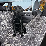 Pet Seat Cover Seat Anchors Waterproof Side Flaps Hammock Non Slip Silicone Backing Bonus Pair of…
