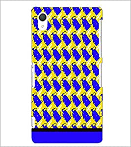 PrintDhaba Pattern D-1654 Back Case Cover for SONY XPERIA Z2 (Multi-Coloured)