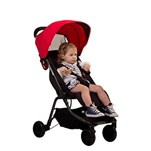 Mountain Buggy Nano Stroller, Ruby
