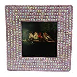 Decorative Photo Frame Indian Handmade Lac Beaded Material Vintage Style Picture Frame Table Top Antique Single...