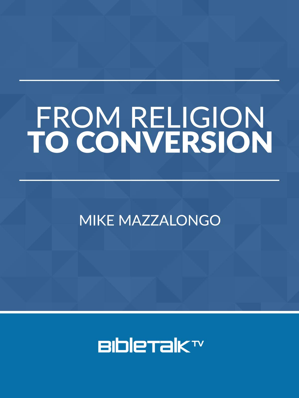 From Religion to Conversion