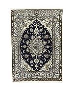 Eden Carpets Alfombra Nain K Beige/Azul/Negro 208 x 148 cm