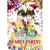 ゆいかおりLIVE HEARTY PARTY!! [DVD]