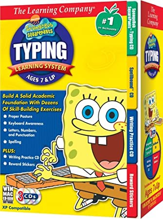 Spongebob Squarepants Typing Learning System 2007