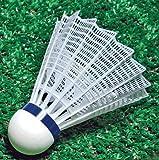 Sportime Badminton Shuttlecocks - International Nylon - Pack of