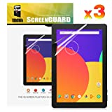TabSuit Dragon Touch 10.1 Inch X10 Screen Protector Ultra-Clear of High Definition (HD)-3 Pack for Dragon Touch X10 10.1 Inch Tablet (Color: Clear)