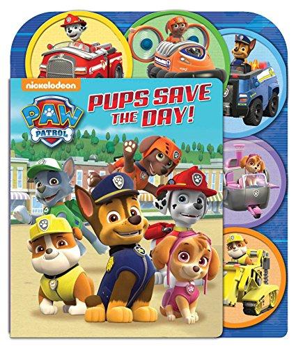 PAW Patrol: Pups Save the Day!: A Slide Surprise Book (Sliding Surprise)