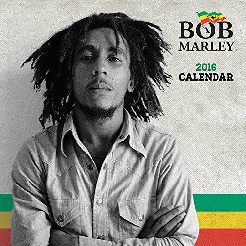 Bob Marley 2016 Square Calendar
