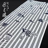 手ぬぐい(三勝注染)小柄 桃太郎 白系(60040150)