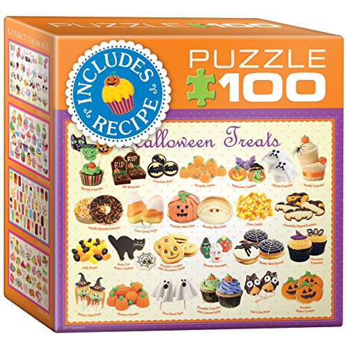 EuroGraphics Halloween Treats Mini Puzzle (100 Piece)
