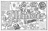Gallopade Publishing Group Illinois Symbols and Facts Fun Sheet - Pack of 30 (9780635062819)