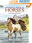 Wonderful World of Horses Coloring Bo...