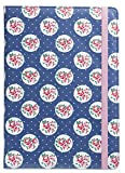 Trendz Universal Folio Case Cover with Built-In Stand and Closing Strap for 9-10 Tablets Compatible with iPad 2/3/4/Air, Samsung Galaxy Tab 2/3/4, Sony Xperia Tablet Z/Z2, Google Nexus 10 - Floral