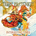 Interesting Times: Discworld, Book 17 Audiobook by Terry Pratchett Narrated by Nigel Planer