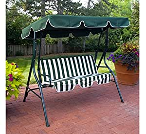 porch swing 2 person canopy swing with