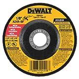 Disco para cortar DEWALT DW4518 4-1/2- pulgadas por 1/8-pulgada de uso general 7/8 pulgadas del metal