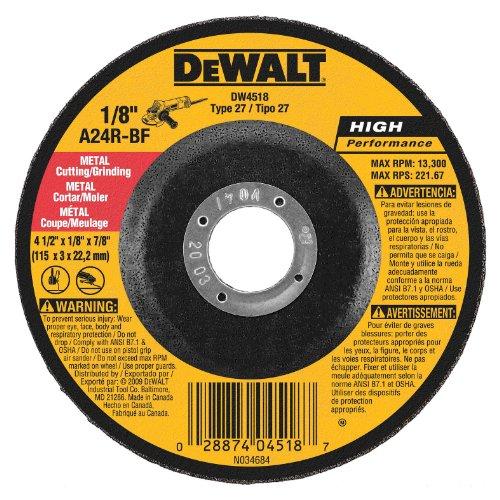 DEWALT DW4518 4-1/2-Inch by Photo