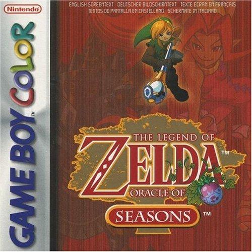 The Legend of Zelda   Oracle of Seasons Nintendo Game Boy Color