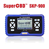 SuperOBD SKP-900 Key Programmer V5.0 Support Almost Cars With Lifetime Free Update (Color: Blue, Tamaño: 18*10.5*3cm)